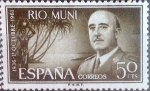 Stamps of the world : Spain :  Intercambio 0,25 usd 50 cents. 1961