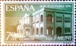 Stamps Spain -  Intercambio 0,25 usd 75 cents. 1961