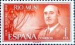 Stamps Spain -  Intercambio 0,25 usd 1 pta. 1961