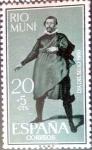 Sellos de Europa - España -  Intercambio 0,25 usd 20 + 5 cents. 1961