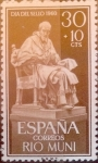 Stamps : Europe : Spain :  Intercambio 0,25 usd 30 + 10 cents. 1961