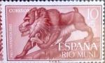 Sellos de Europa - España -  Intercambio 0,25 usd 10 + 5 cents. 1961