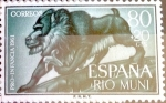 Stamps Spain -  Intercambio fd3a 0,25 usd 80 + 20 cents. 1961