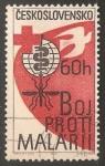 Sellos de Europa - Checoslovaquia -  Lucha contra la malaria
