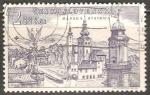 Stamps Czechoslovakia -  Banská Bystrica - vista aerea