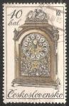 Sellos de Europa - Checoslovaquia -  Relojes europeos en el siglos XVII y XVIII
