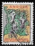 Sellos de Africa - Angola -  Angola-cambio