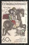 Sellos de Europa - Checoslovaquia -  La busqueda de la felicidad -Josef Baláž