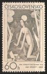Sellos de Europa - Checoslovaquia -  Pintura de Jan Zrzavy