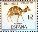 Stamps : Europe : Spain :  Intercambio 0,25 usd 10 cents. 1966