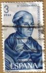 Stamps Spain -  Padre Urdaneta