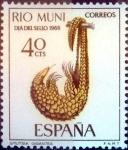 Sellos de Europa - España -  Intercambio 0,25 usd 40 cents. 1966