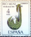Stamps of the world : Spain :  Intercambio 0,25 usd 4 ptas. 1966