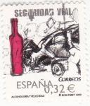 Sellos de Europa - España -  Seguridad vial-alcoholemia y velocidad (24)