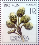 Stamps Spain -  Intercambio 0,25 usd 10 cents. 1967