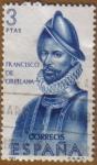 Stamps Spain -  Francisco de Orellana - Forjadores de America