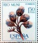Stamps Spain -  Intercambio 0,25 usd 1,50 ptas. 1967