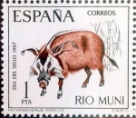 Stamps of the world : Spain :  Intercambio 0,30 usd 1,00 ptas. 1967