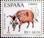 Sellos de Europa - España -  Intercambio 0,30 usd 1,00 ptas. 1967