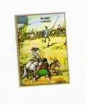 sellos de Africa - Guinea Ecuatorial -  Dom QUIJOTE la PERSECUCION