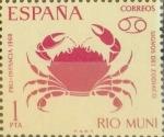Stamps : Europe : Spain :  Intercambio 0,30 usd 1,00 ptas. 1968