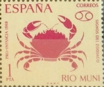 Stamps of the world : Spain :  Intercambio 0,30 usd 1,00 ptas. 1968