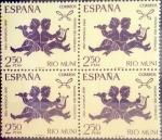 Sellos de Europa - España -  Intercambio 3,00 usd 4 x 2,50 ptas. 1968