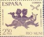 Sellos de Europa - España -  Intercambio 0,75 usd 2,50 ptas. 1968