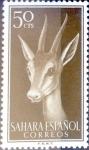 Sellos de Europa - España -  Intercambio fda 0,25 usd 50 cents. 1957