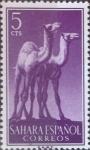 Sellos de Europa - España -  Intercambio uxb 0,20 usd 5 cents. 1957