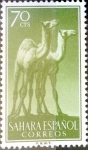 Stamps of the world : Spain :  Intercambio 0,70 usd 70 cents. 1957