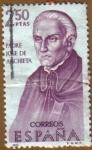 Sellos de Europa - España -  Padre Jose de Anchieta - Forjadores de America