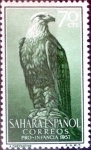 Stamps Spain -  Intercambio 0,25 usd 70 cents. 1957