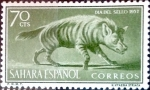 Stamps Spain -  Intercambio fd4a 0,25 usd 70 cents. 1957