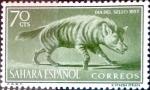 Sellos de Europa - España -  Intercambio jxi2 0,25 usd 70 cents. 1957