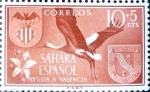 Sellos del Mundo : Europa : España : Intercambio 0,20 usd 10 + 5 cents. 1958