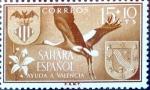 Sellos de Europa - España -  Intercambio 0,25 usd 15 + 10 cents. 1958