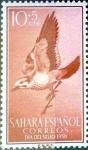 Sellos de Europa - España -  Intercambio 0,20 usd 10 + 5 cents. 1958