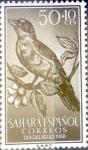 Sellos de Europa - España -  Intercambio cryf 0,25 usd 50 + 10 cents. 1958