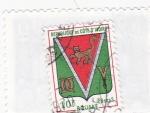 Stamps Ivory Coast -  E S C U D  O- BOUAKE