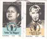 Stamps Mexico -  Toña