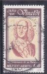 Stamps Mexico -  Año de Vivaldi