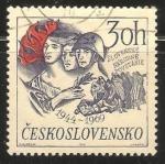 Sellos de Europa - Checoslovaquia -  Insurrección Nacional Eslovaca