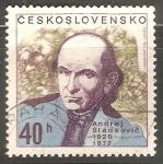 Sellos de Europa - Checoslovaquia -  Andrej Sládkovič