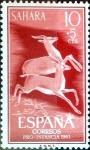 Sellos de Europa - España -  Intercambio 0,20 usd 10 + 5 cents. 1961