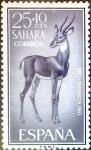 Sellos de Europa - España -  Intercambio cryf 0,25 usd 25 + 10 cents. 1961