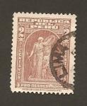 Stamps : America : Peru :  Pro-desocupados (benefico)