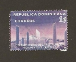 Stamps : America : Dominican_Republic :  Monumento de Capotillo