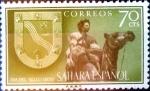 Sellos de Europa - España -  Intercambio 0,25 usd  70 cents. 1956