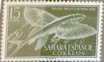 Sellos de Europa - España -  Intercambio uxb 0,25 usd  15 cents. 1954